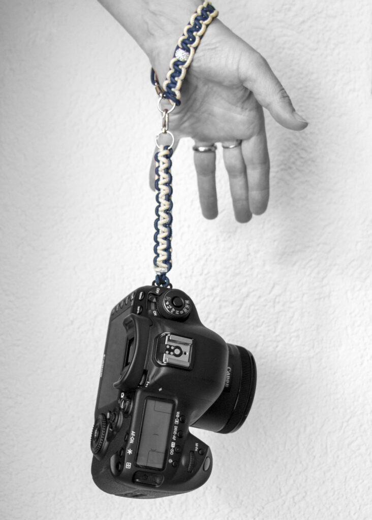 Knüpfe dir dein eigenes Kameraband